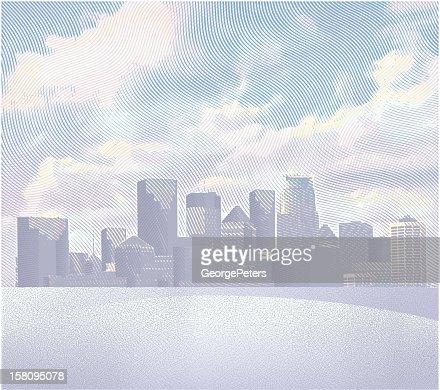 Cityscape : Vector Art