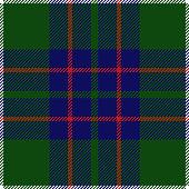 Clan MacIntyre Scottish seamless traditional tartan plaid pattern design.