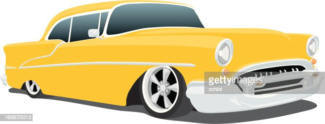 Chevy Bel Air Custom 1955 Vector Art | Getty Images