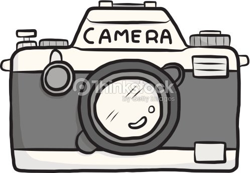 Classic Camera Cartoon Vector Art | Thinkstock