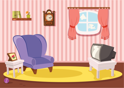 Living Room Stock Illustrations And Cartoons Getty Images