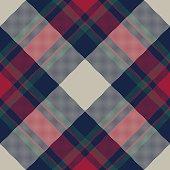 Classic tartan plaid seamless pattern. Flat design. Vector illustration.