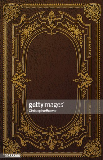 Book Cover Vector Art : Classical book cover design vector art getty images