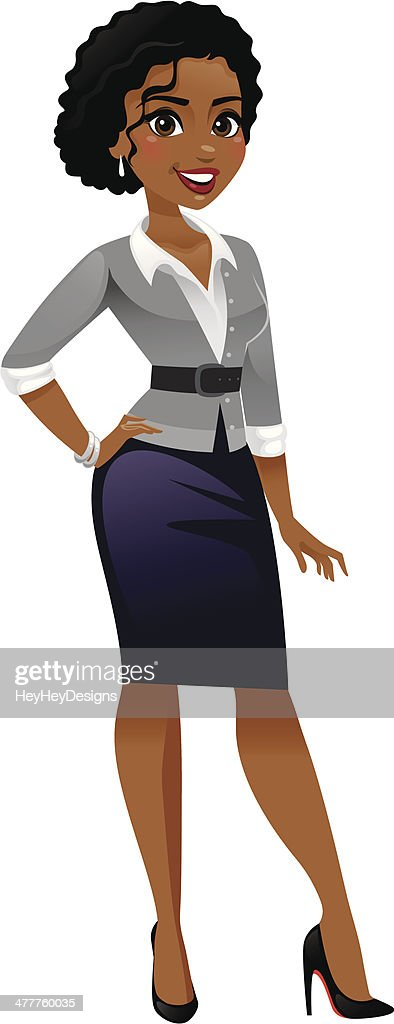 Classy business woman