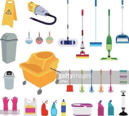 Ferramentas de limpeza : Arte vetorial