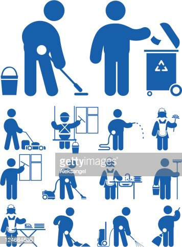 cleaning service icon vector art thinkstock