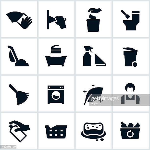 Cleaning Services Icons