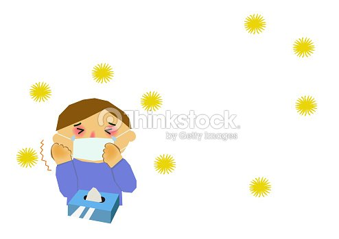 Clip Art Of People With Allergic Rhinitisimage Of Stuffy