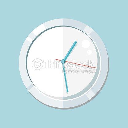 18c3fd69f6ee Reloj Logotipo Icono Aislado Reloj De Objeto arte vectorial - Thinkstock