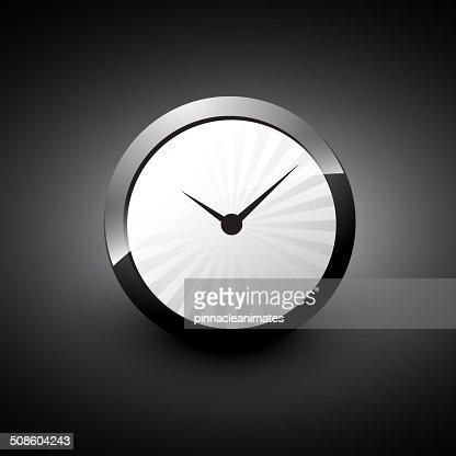 Reloj de vector : Arte vectorial