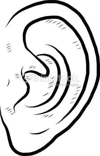 Oreille humaine clipart vectoriel thinkstock - Clipart oreille ...