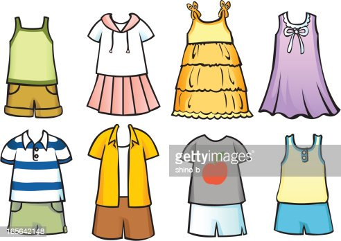 Kids Pants Drawing ... Clothes for children 2. The clothes can fit onto my children