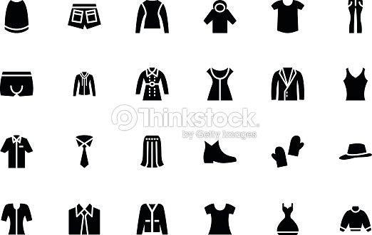 clothes vector icons 4 vector art thinkstock