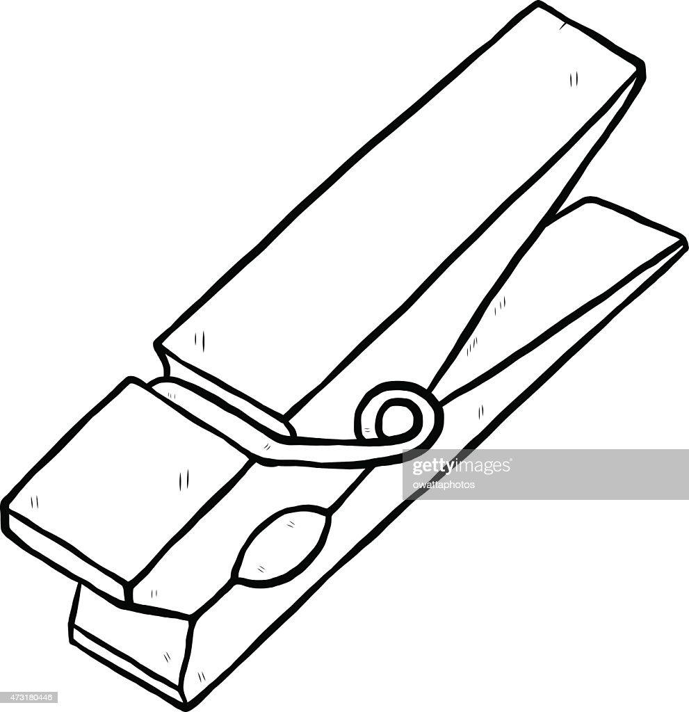 clothespin vector art thinkstock rh thinkstockphotos com clothespin clip art on pinterest