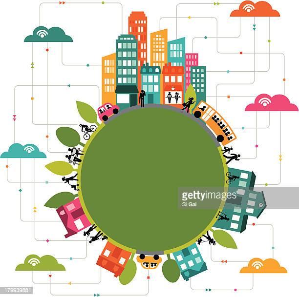 Il Cloud computing si collega comunità in tutto il mondo