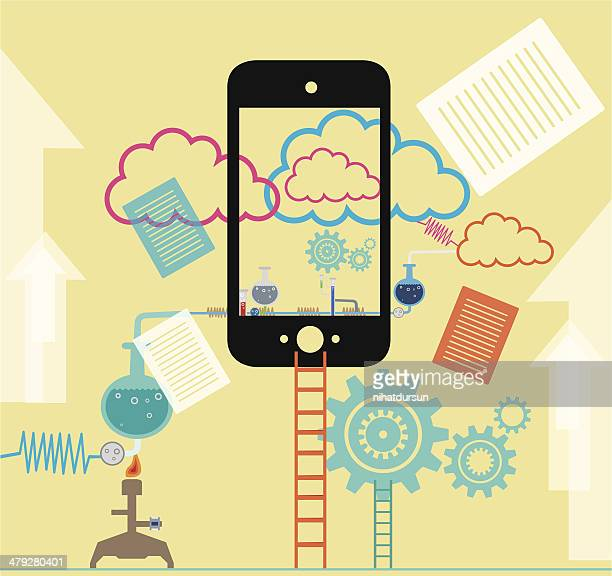 Clouds Computing with Mobil Phone