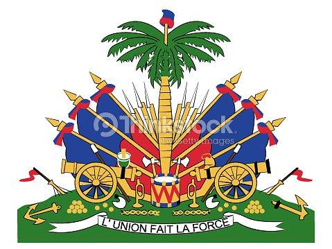 Coat Of Arms Of Haiti Vector Art Thinkstock