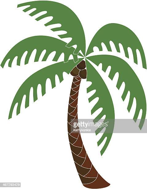 Coconut Palm Tree Stock Illustrations And Cartoons | Getty ...