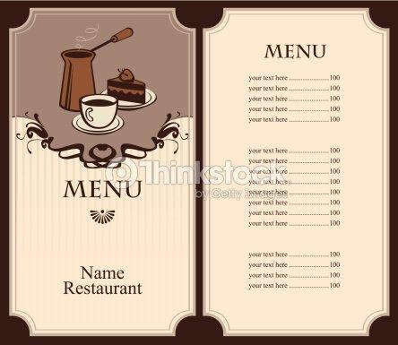 Cafe Artista Menu