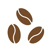 coffee bean, coffee icon