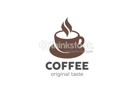 coffee cup icon design vector template cafe symbol icon ベクトル