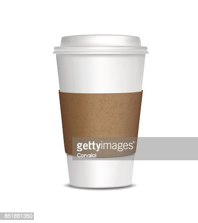 Coffee Cup Isolated on white background : stock vector