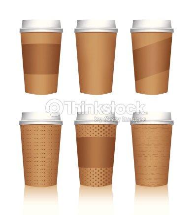 Kaffee Tasse Vektorvorlagen Vektorgrafik | Thinkstock