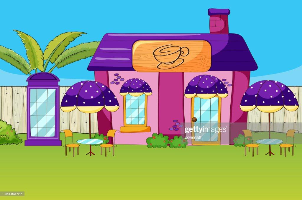 Café house : Arte vectorial