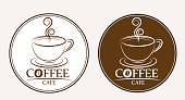 Coffee logo, labels, design templates