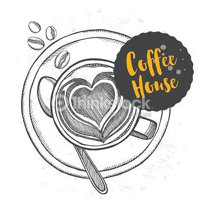 Kaffee Restaurant Cafémenüvorlagedesign Vektorgrafik | Thinkstock