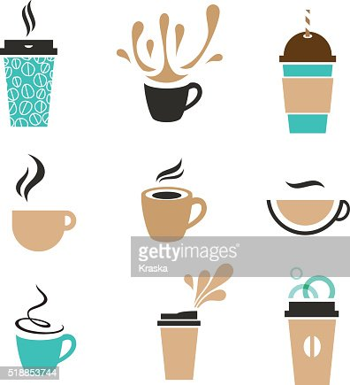 coffee signs : stock vector