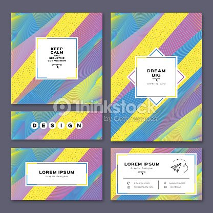 Collection cards invitation a4 poster business card flyer geometric collection cards invitation a4 poster business card flyer geometric background reheart Choice Image