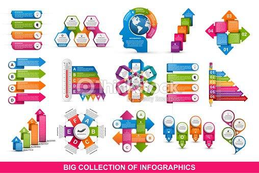 70f1ae24260f3 Infografía de colección. Elementos de diseño. Infografía para presentaciones  de negocios o cartel de