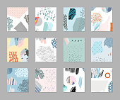 Trendy Graphic Design for banner, poster, card, cover, invitation, placard, brochure