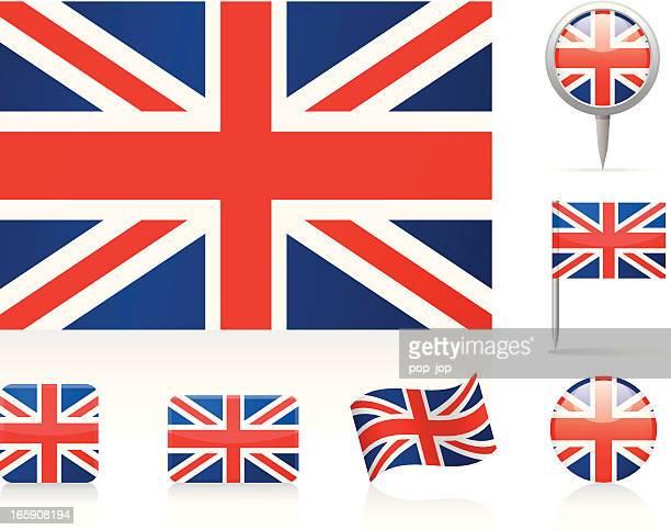 Illustrations et dessins anim s de drapeau du royaume uni - Dibujo bandera inglesa ...