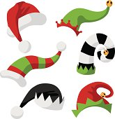 A collection of fun holiday hats