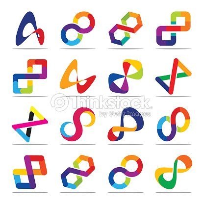 Collection Of Icons For Infinity Symbols Vector Art Thinkstock