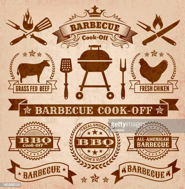 Collection of summer barbecue images