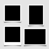 Collection photo frame - stock vector