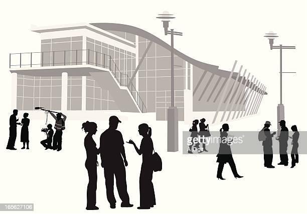 大学キャンパスのイラスト素材と絵 | Getty Images