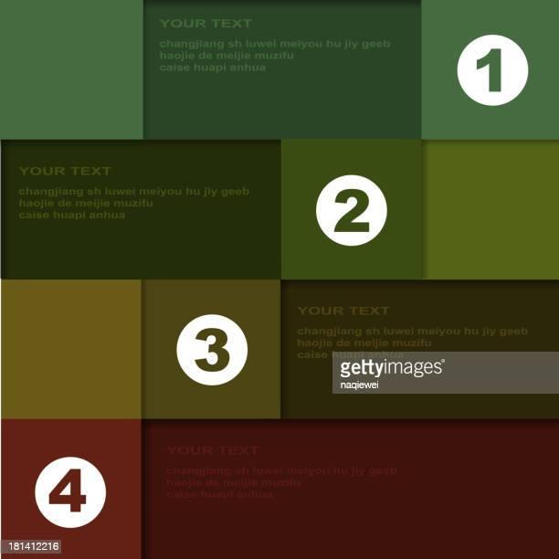 color banner for design