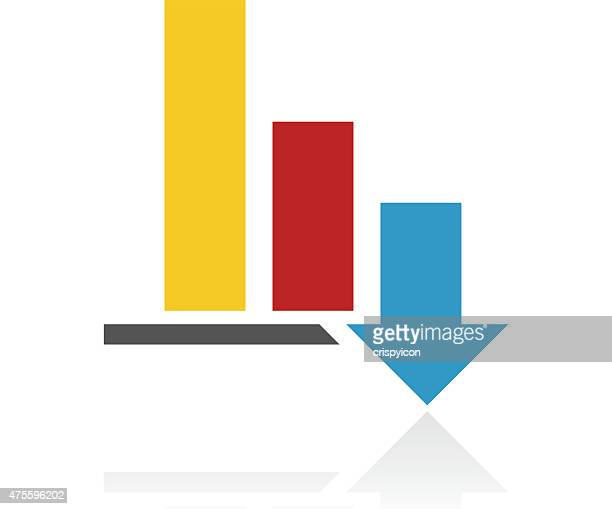 Color Bar Graph icon