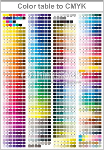 Color Print Test Page Vector Art Thinkstock