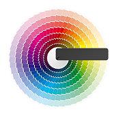 Color Wheel Vector Art Thinkstock