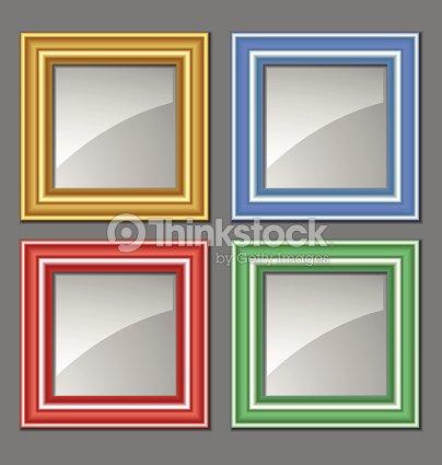 Colored Frames Vector Art | Thinkstock