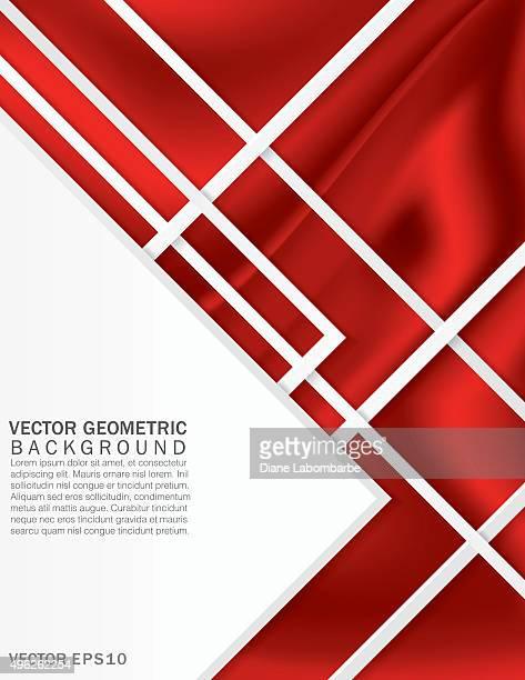Fond abstrait coloré Design géométrique