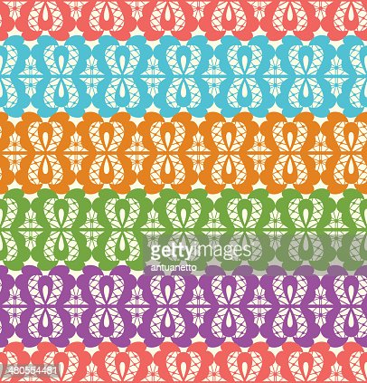 colorful abstract seamless pattern : Vector Art