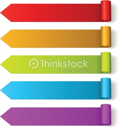 colorful arrow labels vector art thinkstock