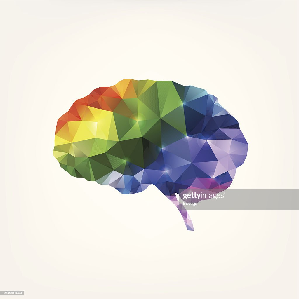 Colorful Brain Design Vector Art Getty Images