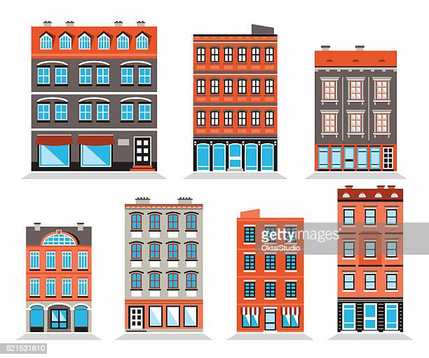 Colorful Building's Facades
